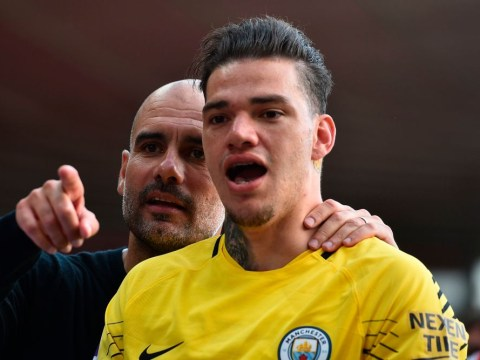 Ederson reveals the moment he 'p****d off' Manchester City manager Pep Guardiola