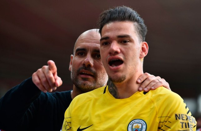 Ederson has revealed he 'p****d off' Manchester City manager Pep Guardiola