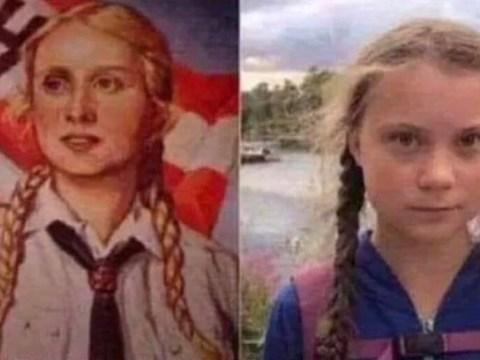 Greta Thunberg compared to Nazi propaganda girl by US commentator