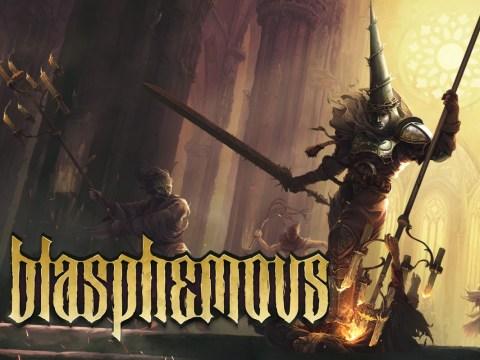Blasphemous review – sacrilegious souls