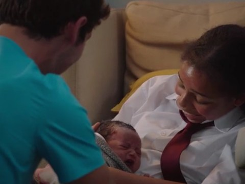 Holby City review with spoilers: Cameron confronts Ric after shock arrival of Darla's baby