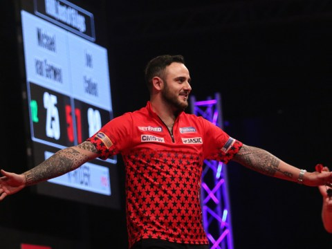 'Mere mortal' Joe Cullen hails 'biggest moment of career' after beating Micheal van Gerwen in European Darts Matchplay final