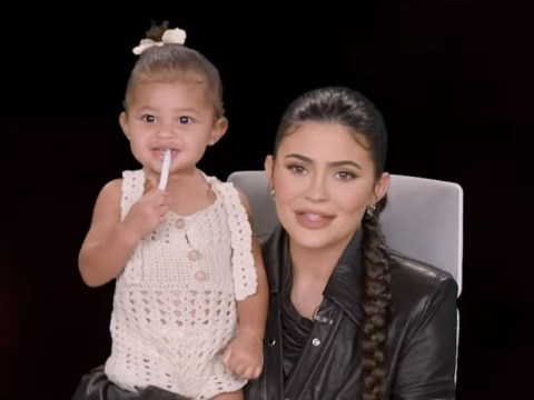 Kylie Jenner's daughter Stormi proves she's total daddy's girl on sassy Ellen Show debut