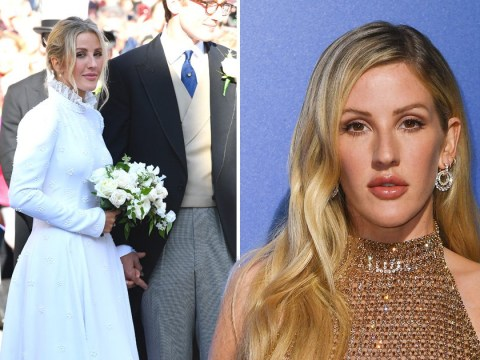 Ellie Goulding's Chloé wedding dress 'took 640 hours to make' as she marries Caspar Jopling