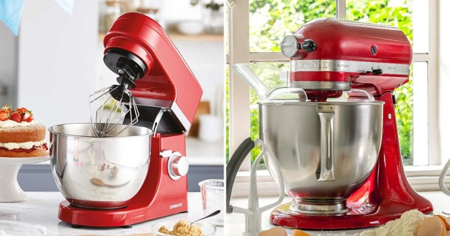 Aldi is selling Bake Off KitchenAid stand mixer dupes for