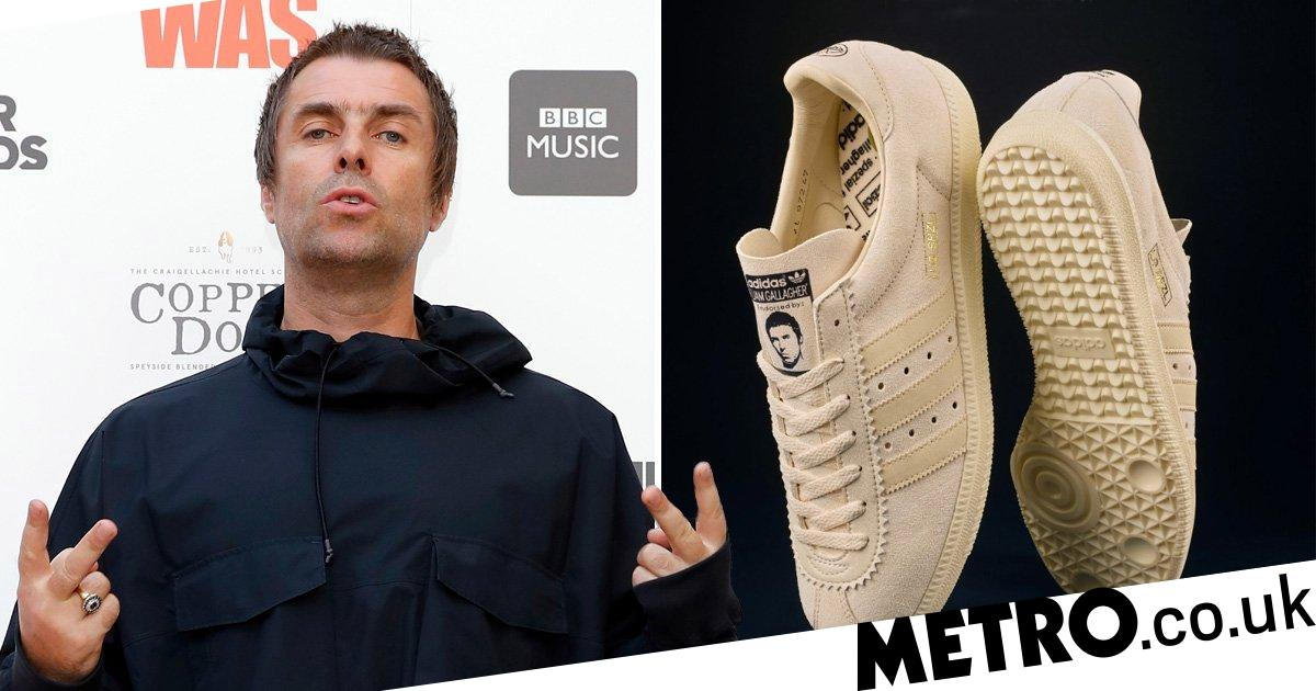 Fans flog Liam Gallagher's trainers for