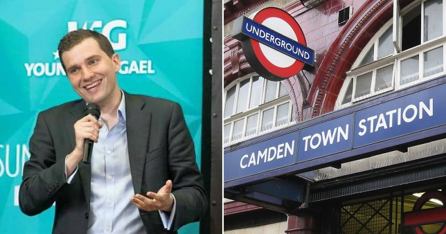 The incident happened on the Northern Line near Camden Town
