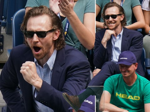 Avengers: Infinity War star Tom Hiddleston is Johanna Konta's number one fan at US Open