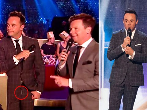 Ant McPartlin accidentally had his fly undone during Britain's Got Talent: The Champions