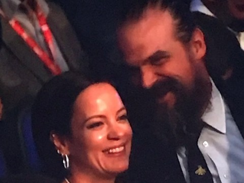 Lily Allen gets the Tube with rumoured beau David Harbour for boxing match night out