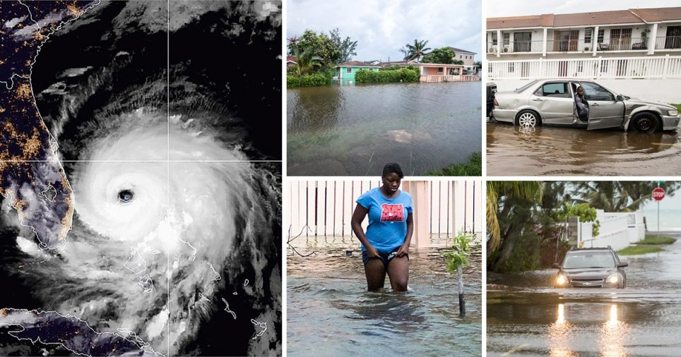 The hurricane is the second-strongest Atlantic hurricane on record (Picture: Reuters)