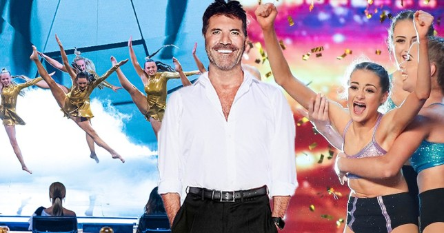 Simon Cowell and MerseyGirls