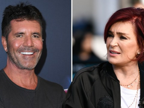 Sharon Osbourne rips into Simon Cowell's new teeth: 'They're too white again'