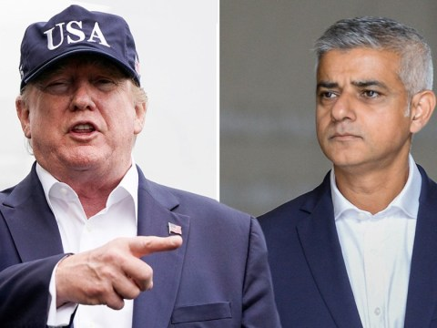 Donald Trump attacks 'incompetent' Sadiq Khan again but spells his name wrong