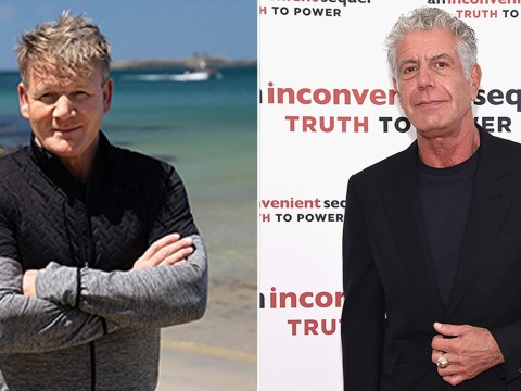 Gordon Ramsay hits back at allegations of ripping off Anthony Bourdain in new show Uncharted