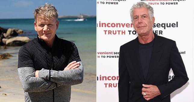 Gordon Ramsey: Uncharted and Anthony Bourdain