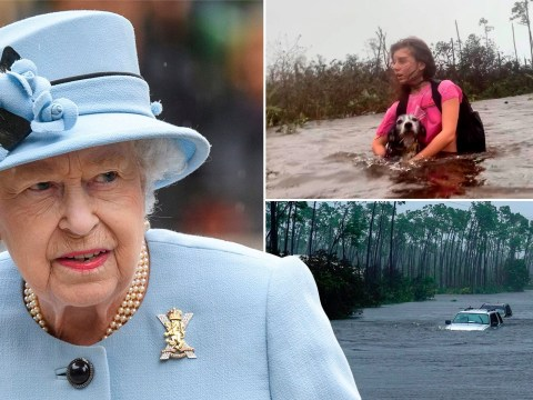 The Queen sends condolences to Hurricane Dorian victims