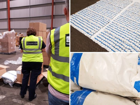 Heroin worth £120,000,000 hidden in dressing gowns on container ship