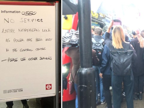 Journey to work 'like the Hunger Games' as entire Northern Line shuts down