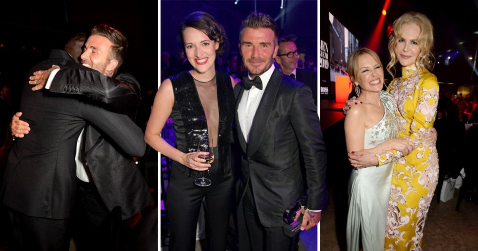 Inside GQ Men of the Year Awards' glittering afterparty as A-listers rub shoulders