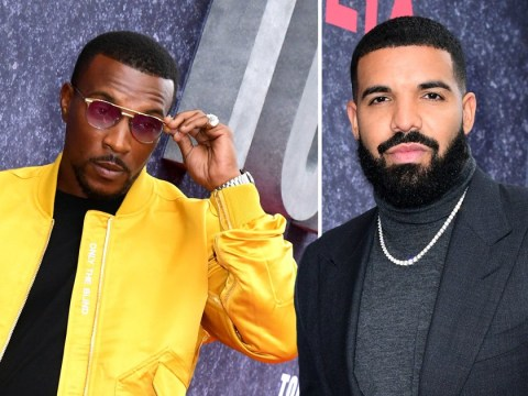 Drake and Ashley Walters buddy up as Top Boy premiere hits London