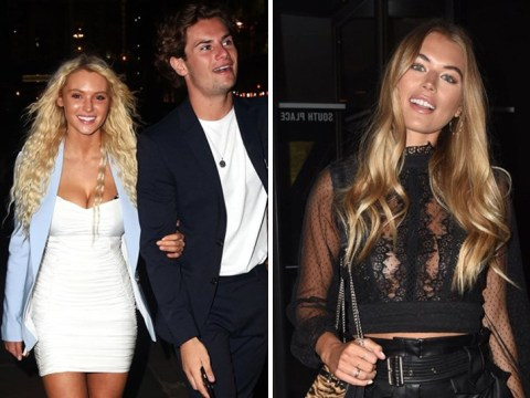 Love Island stars Lucie Donlan and Arabella Chi all smiles on night out amid claims of PrettyLittleThing 'ban'
