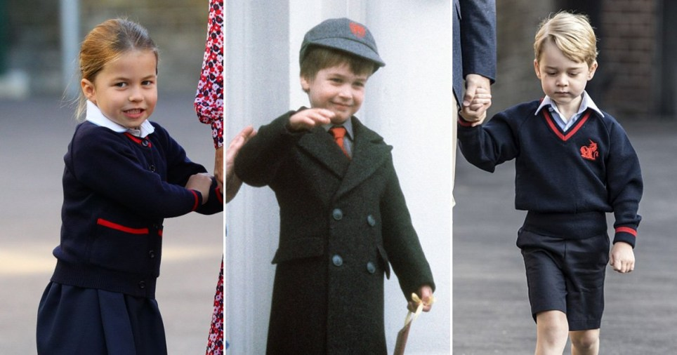 All the royals first days