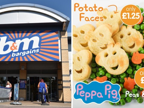 Run, don't walk, to B&M for these Peppa Pig potato faces and veggie shapes