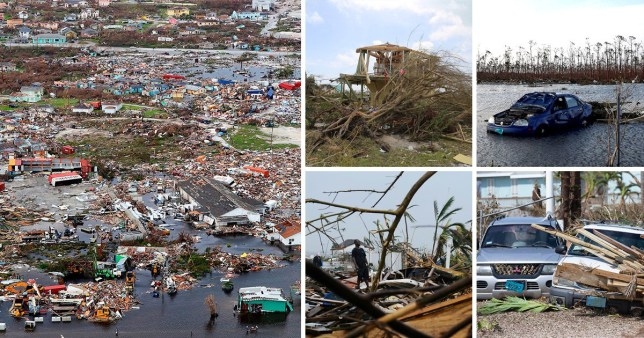Areas of the northern Bahamas were devastated by Hurricane Dorian