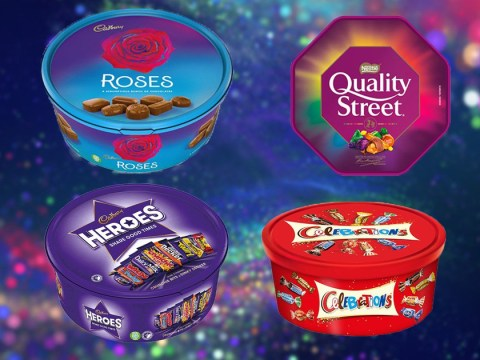 Morrisons is selling two tubs of Roses, Celebrations, Quality Street and Heroes for £7