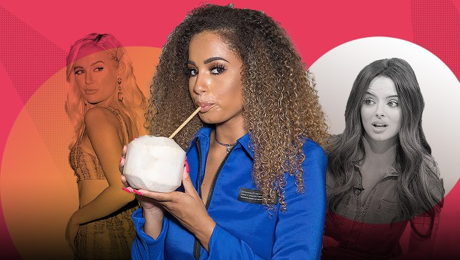 Love Island's Amber Gill, Molly-Mae Hague, Maura Higgins