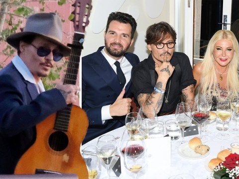 Johnny Depp looks carefree at Venice Film Festival after Dior ad is pulled due to backlash