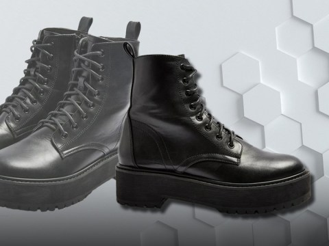 Topshop has released an affordable version of Dr Martens boots