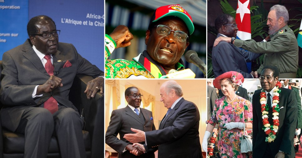 The former president of Zimbabwe Robert Mugabe died at the age of 95 today