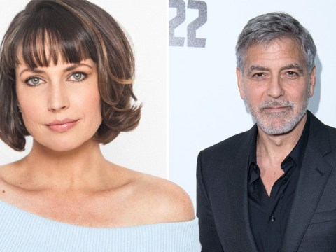 Catch-22's Julie Ann Emery met on-screen husband George Clooney 'looking like a drag queen'