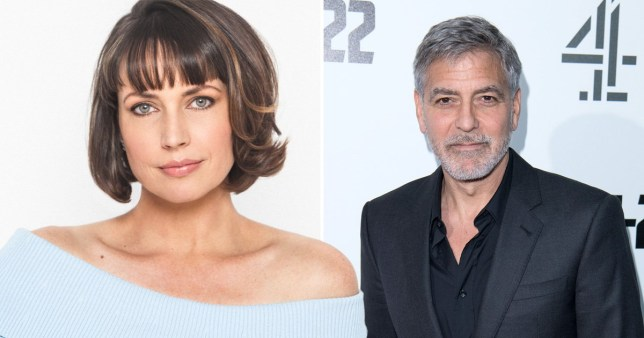 Catch-22's Julie Ann Emery met on-screen husband George Clooney 'looking like a drag queen'