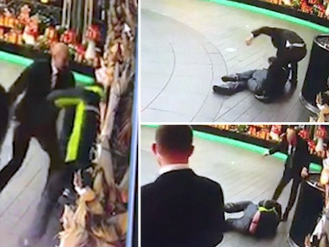Shocking footage shows doorman beating 'rough sleeper' outside Savoy Hotel