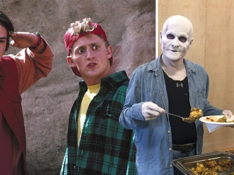 Death makes a totally excellent return to Bill & Ted as William Sadler grabs lunch on set