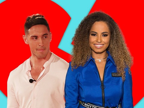 Love Island winner Greg O'Shea 'dumps Amber Gill by text' after five weeks