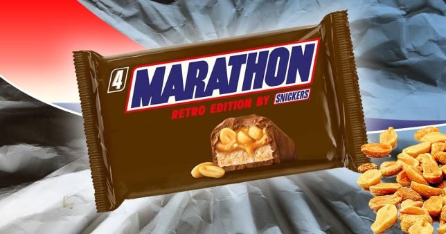Retro Chocolate Bar Lovers Rejoice Marathon Bars Are Coming