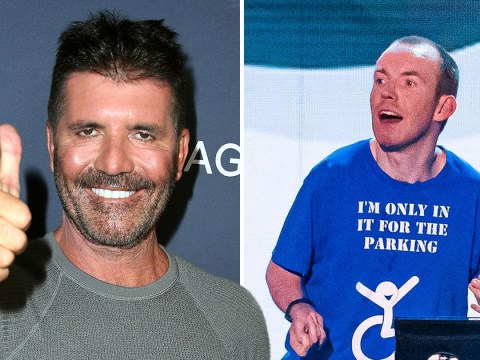 Lost Voice Guy expertly rinses Simon Cowell over plastic surgery on Britain's Got Talent: The Champions as judge admits he spent thousands on new look