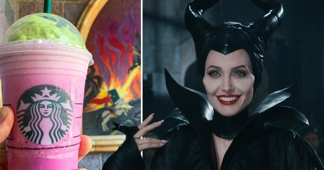 Starbucks Just Released A Maleficent Frappuccino For