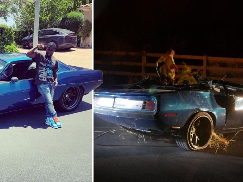 Kevin Hart's car 'lacked safety features' which would have helped him avoid horrific crash injuries