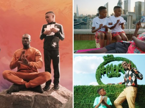 Stormzy joined by his adorable nephews in jaw-dropping Sounds of the Skeng music video