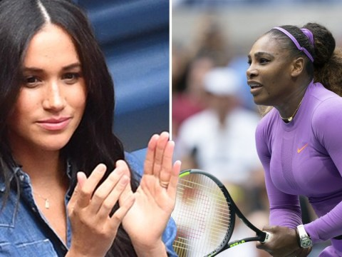 Meghan Markle supports friend Serena Williams in US Open defeat