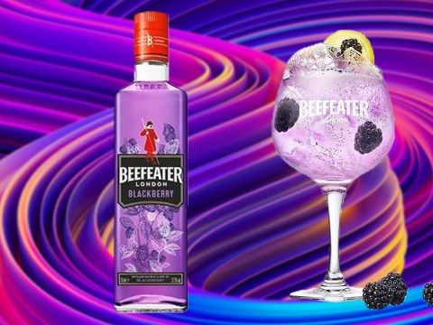 Tesco is selling blackberry flavoured Beefeater gin and it's purple
