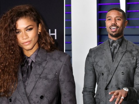 Even Michael B Jordan thinks Zendaya wore this designer suit better than him