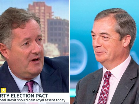 Nigel Farage says the Brexit Party won't stand against no-deal Tory candidates