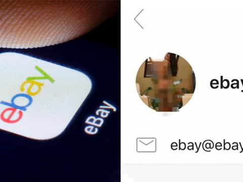 Ebay 'investigating' hack that swapped email icon for topless woman