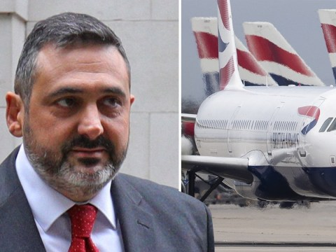 BA chief exec slammed for taking '£530,000 pay rise' before pilot strike